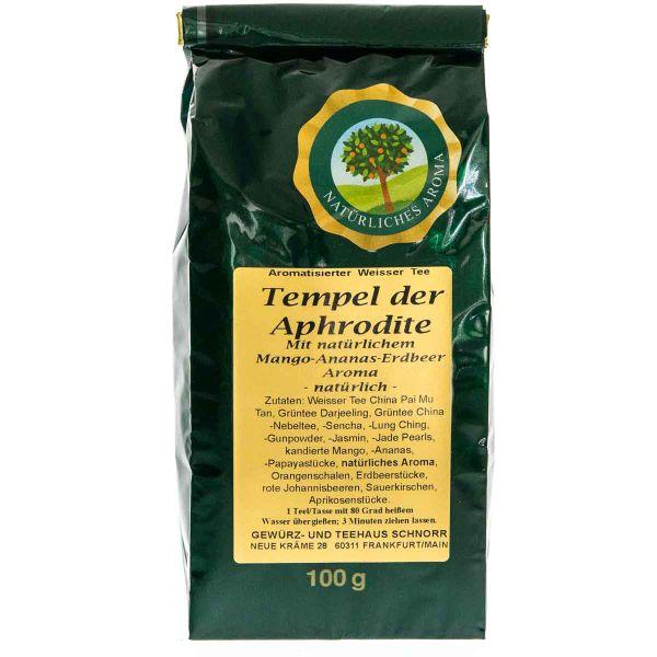 Weißer Tee Tempel der Aphrodite mit natürlichen Aroma