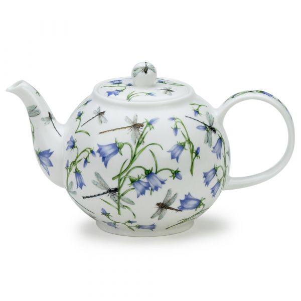Large Teapot Dovedale Harebell / Glockenblume 1,2L - Dunoon