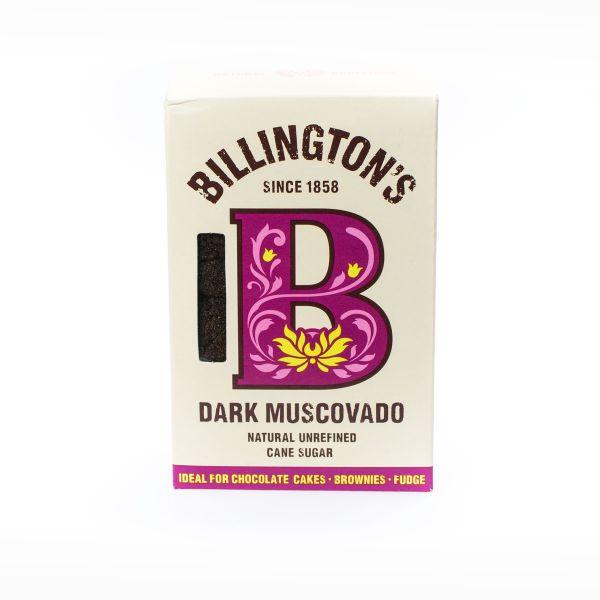 Billington's Muscovado Rohrzucker Dunkel