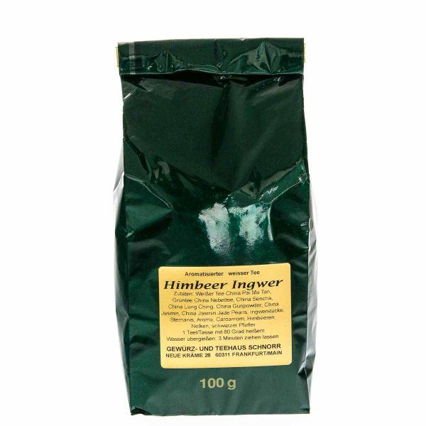Himbeer Ingwer Weißer Tee
