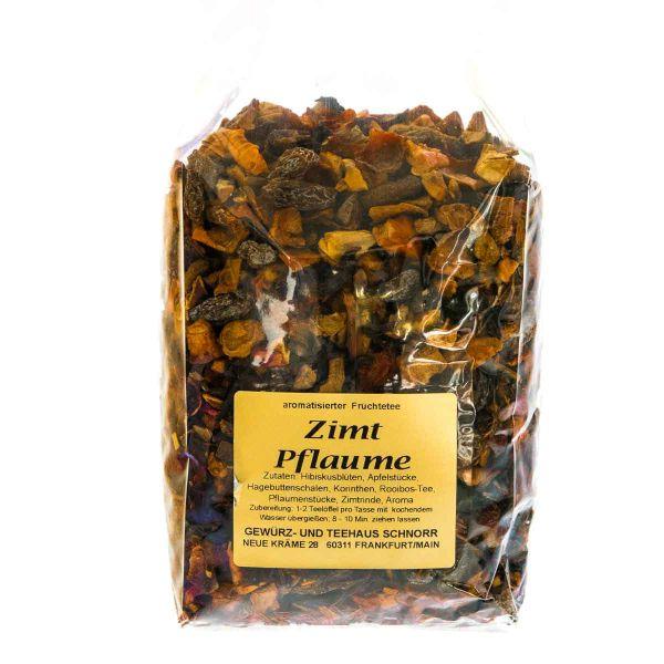 Zimt-Pflaume Früchtetee