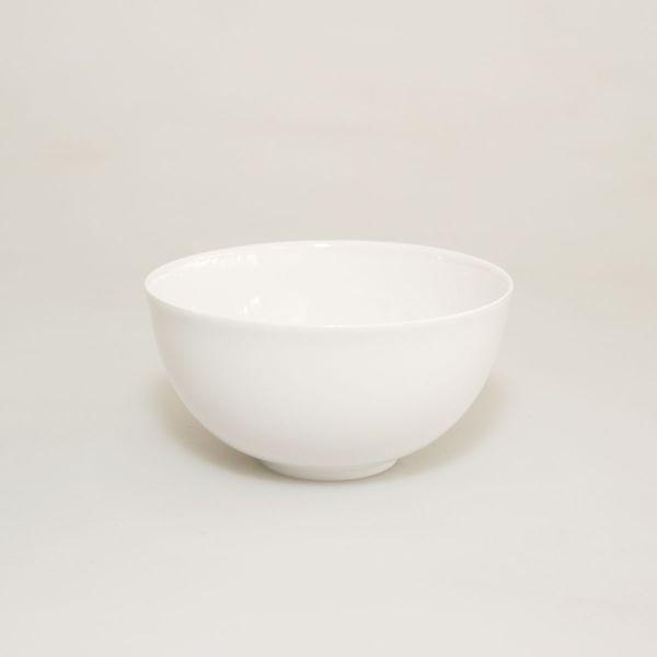 Teeschale Eierschalenporzellan weiß groß