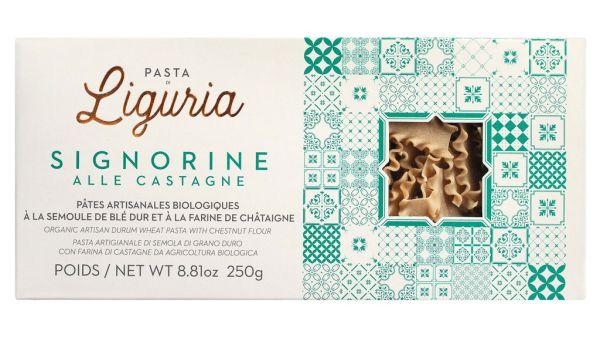Pasta di Liguria -Signorine alle castagne Bio