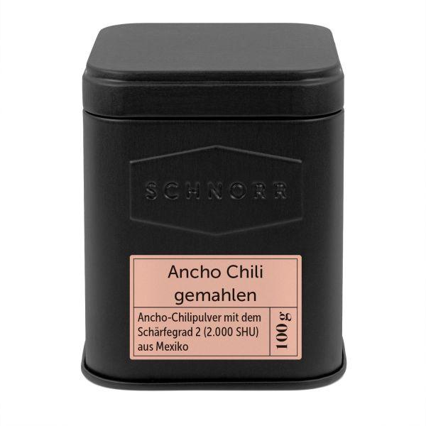 Ancho Chili gemahlen Dose