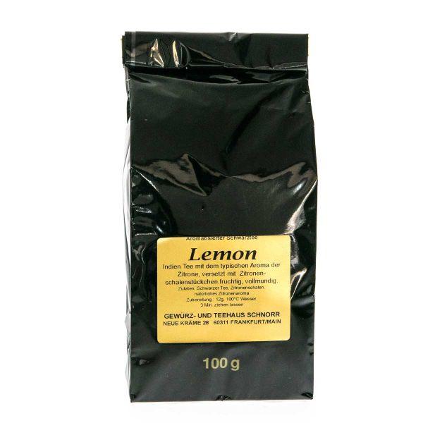 Lemon Schwarztee