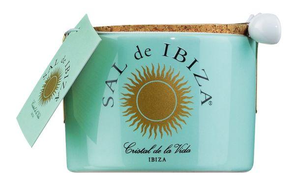 Sal de Ibiza - Fleur de Sel - im Keramiktopf