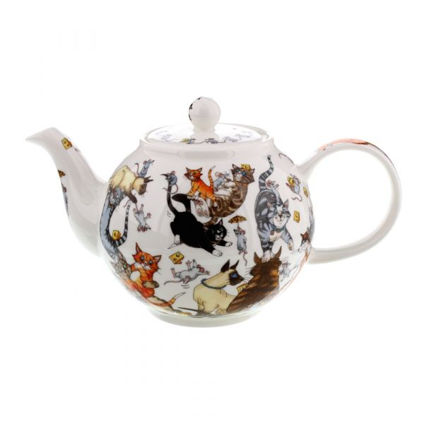 Small Teapot Pussy Galore (Katzen) 0,75L - Dunoon