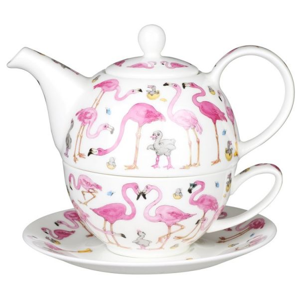 Tea for One Flamboyance - Kanne 0,5L / Tasse 0,2L - Dunoon