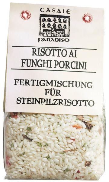 Risotto Reis mit Steinpilzen