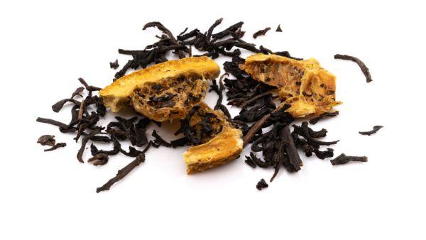 Light & Late Schwarztee mit Orangengeschmack ohne Koffein