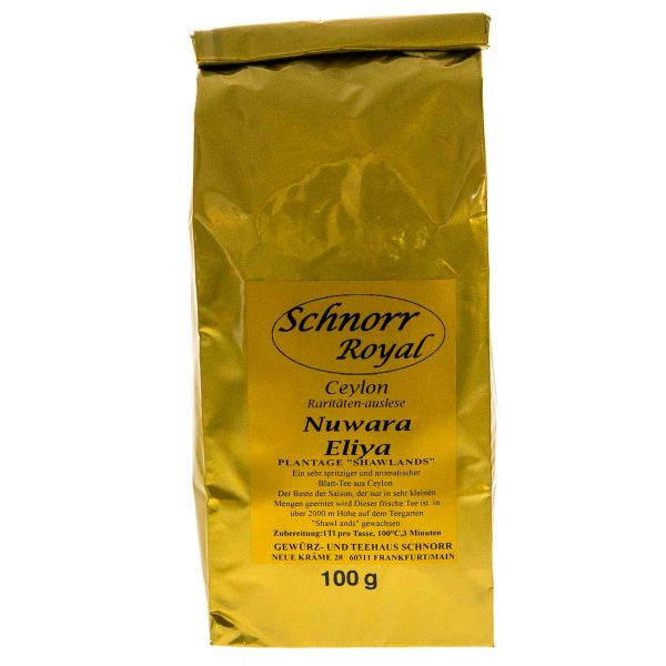 Ceylon Orange Pekoe Superior Nuwara Eliya (Schnorr Royal)