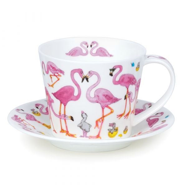 Islay Cup & Saucer Flamboyance 0,35L - Dunoon