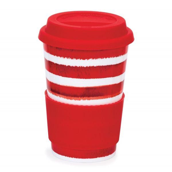 Travel Mug Hoopla Red 0,44 l