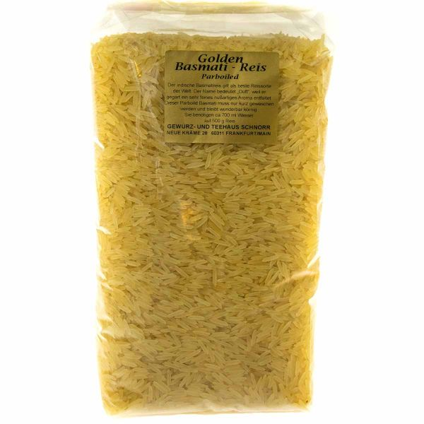 Golden Basmati Parboiled