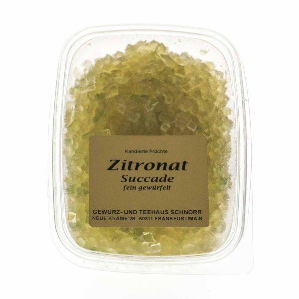 Zitronat - fein gewürfelt