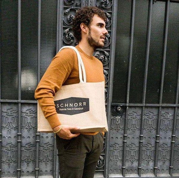 "Eco Jute-Tasche - ""Schnorr-Bag"""