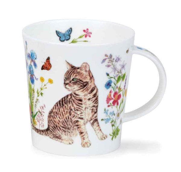 Lomond Floral Cats Tabby 0,32L - Dunoon