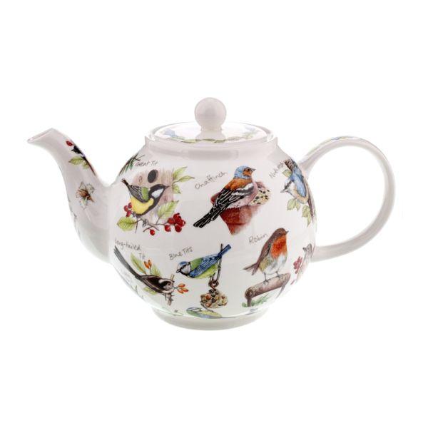 Small Teapot Birdlife 0,75L - Dunoon