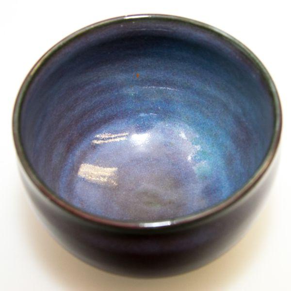 Narieda Matchaschale Lila (handgemacht / Japan)