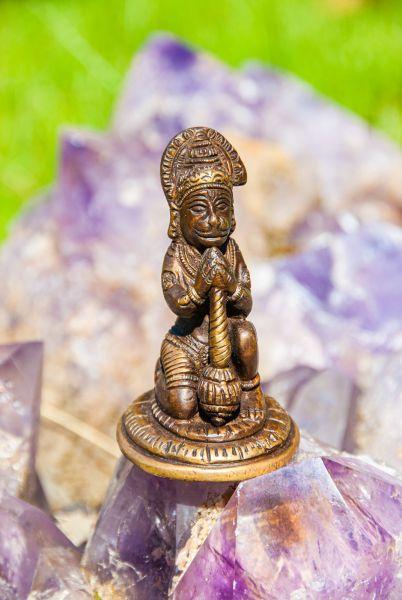 Hanuman, Messing, 8,5 cm