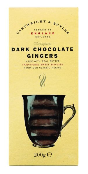 Dark Chocolate Ginger - Ingwerkekse in Schokolade
