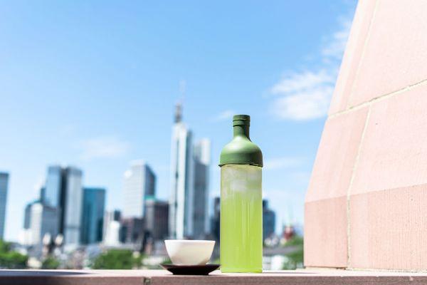 Kaltaufguss Flasche Hario aus Glas mit integriertem Filter
