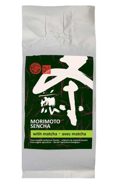 Morimoto Sencha mit Matcha (Bio)