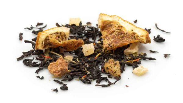 Mango und Moringa mit einer Mischung schwarzer Tees
