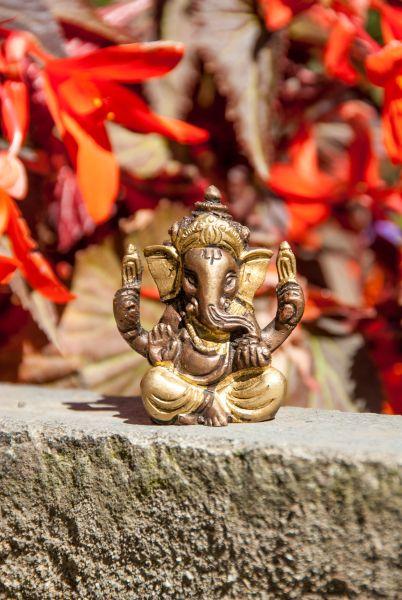 Ganesha Messing 5,7 cm