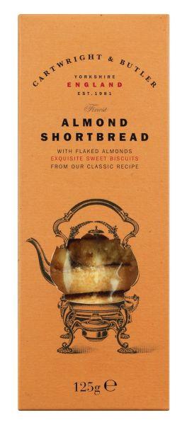 Almond Shortbread - Butterkeks mit Mandeln