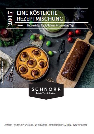 Schnorrs Weihnachtsrezepte 2017