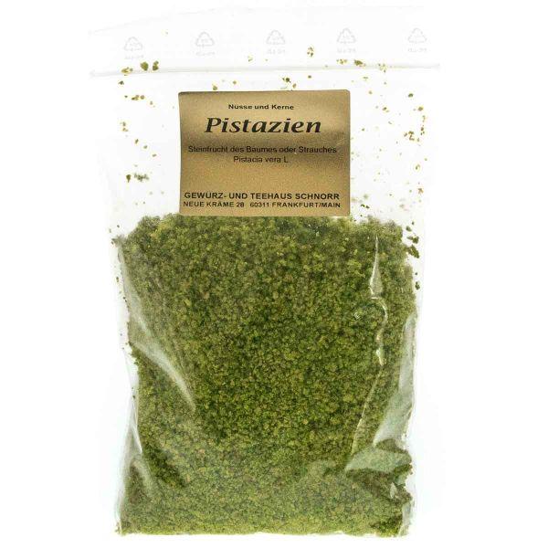 grüne Pistazien - gemahlen