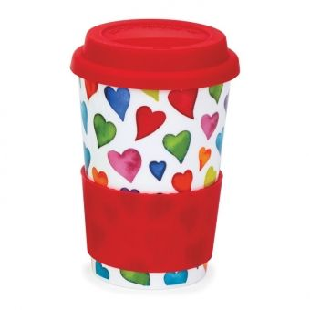 Travel Mug Warm Hearts 0,44L - Dunoon