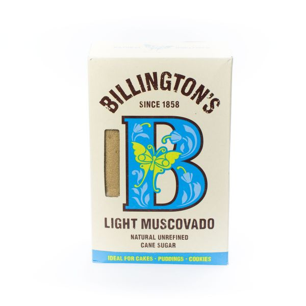 Billington's Muscovado Rohrzucker light