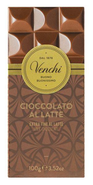 Venchi Tafel Milk Chocolate - Vollmilchschokolade