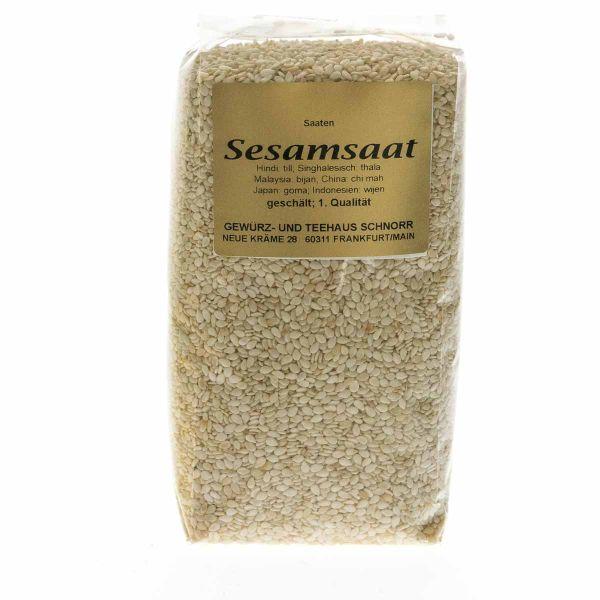 Sesamsaat geschält