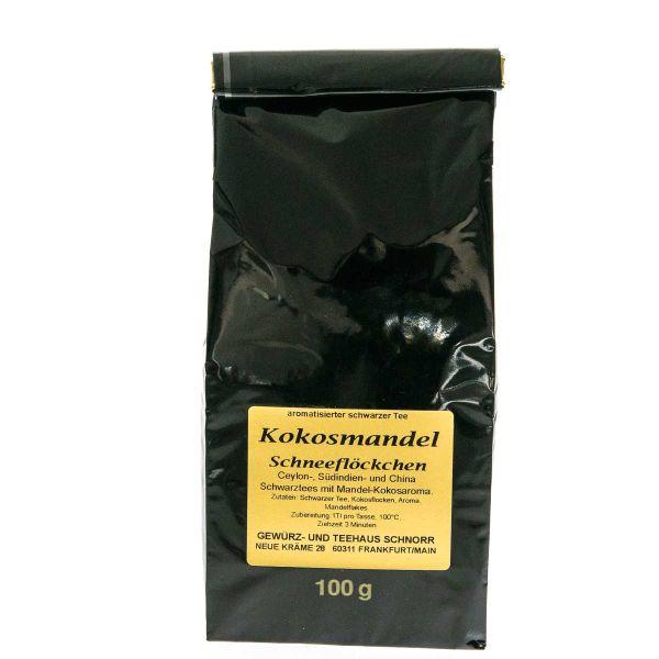 Kokos-Mandel Schwarztee