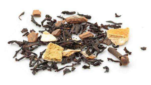 Adventstee schwarz - ein Teelein brüht