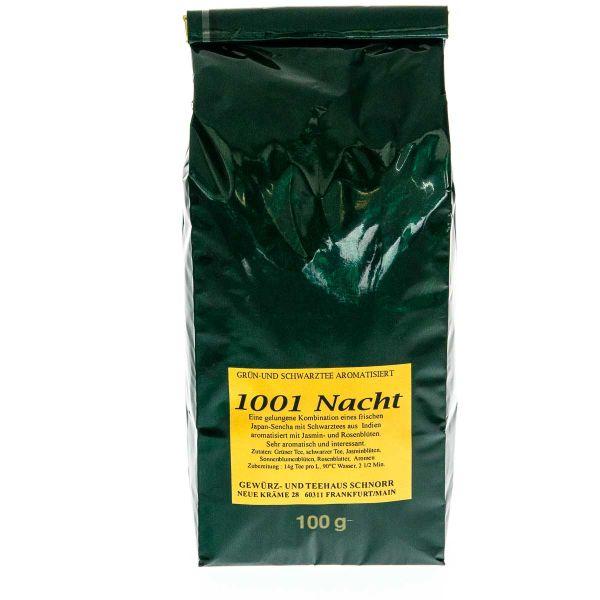1001 Nacht Schwarztee - Grüntee Mischung