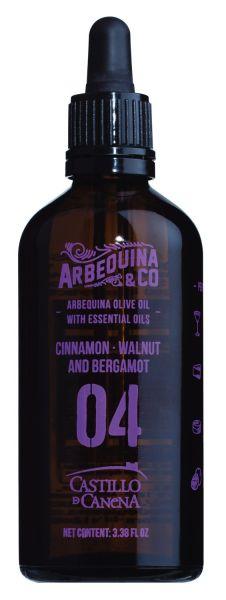 04 Olivenöl mit Zimt, Walnuss und Bergamotte
