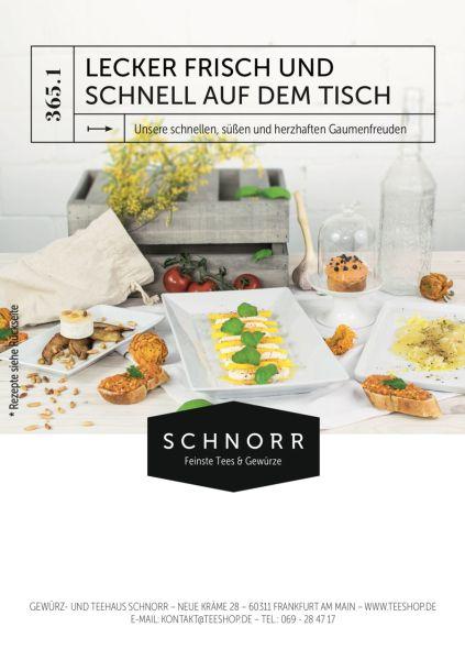 Schnorrs Jahresrezepte 2018