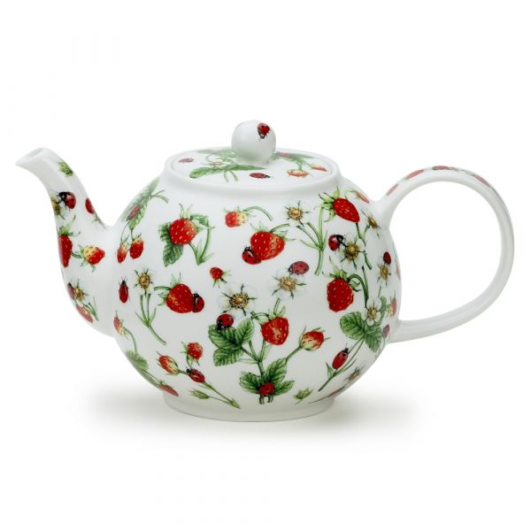 • Large Teapot Dovedale Strawberry 1,2L - Dunoon