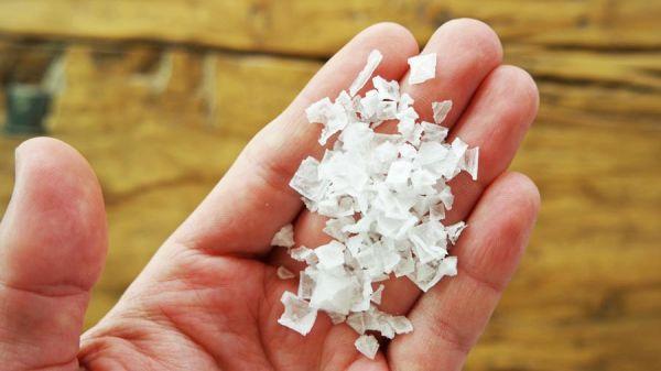 Pyramiden Salzflocken aus Zypern