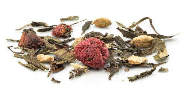 Himbeer Ingwer Tee Mischung