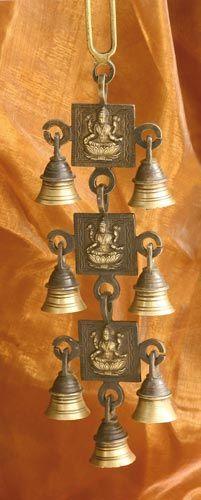 Glockengeläute Lakshmi, Messing