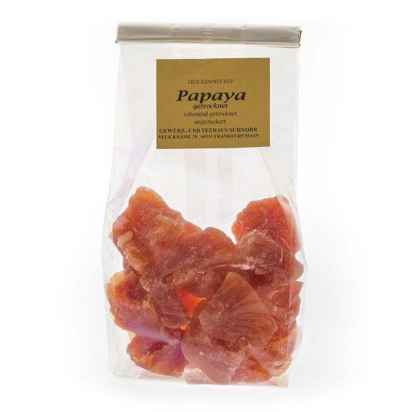 Papaya - ungezuckert, ungeschwefelt